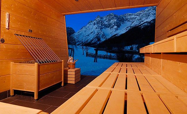 Rainer Resort sauna
