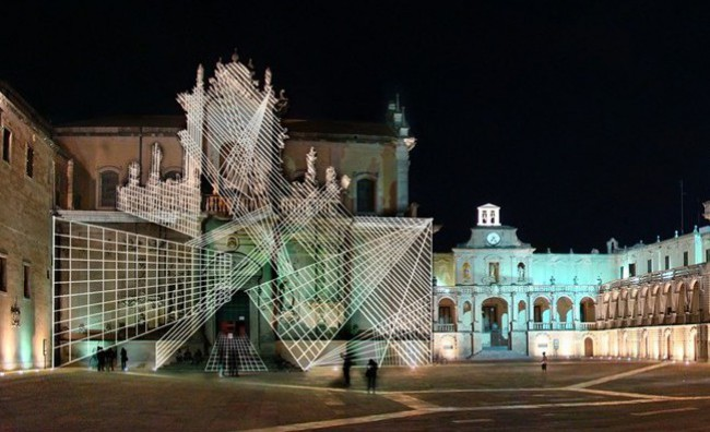 L'arte contemporanea illumina Lecce