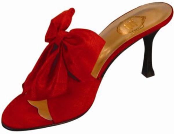 Les chaussons de la belle