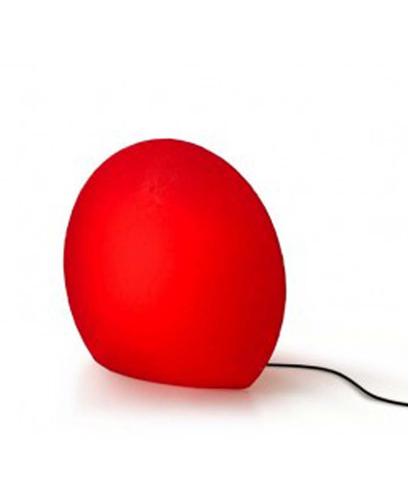 Lampada rossa Eggo Authenthics