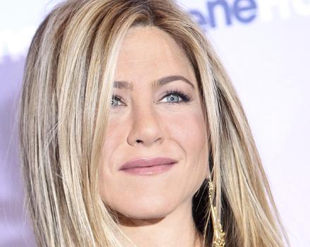 Jennifer Aniston orecchini collana