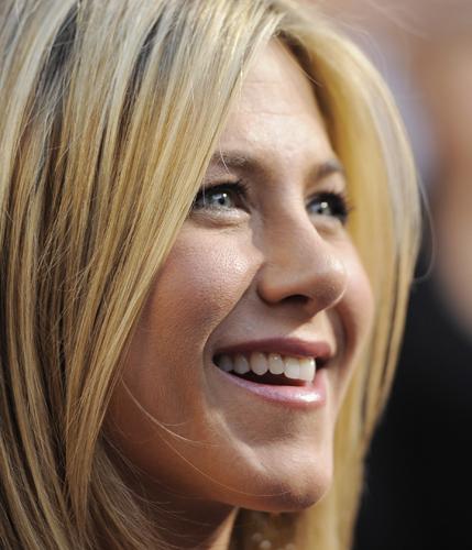 Jennifer Aniston primo piano