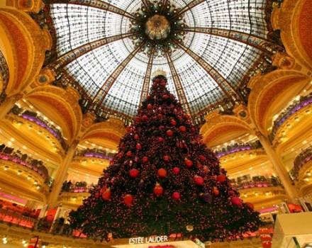 Luci di Natale a Parigi