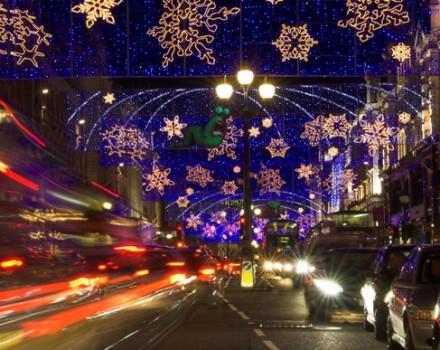 Luminarie a Londra
