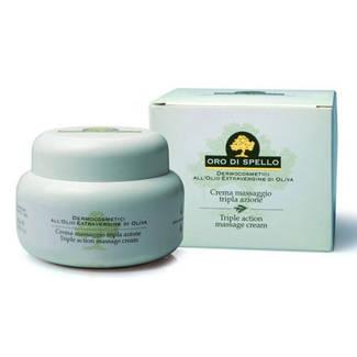 Crema Massaggio Tripla Azione Oro di Spello