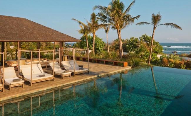 Bali, villa sull'oceano con vista