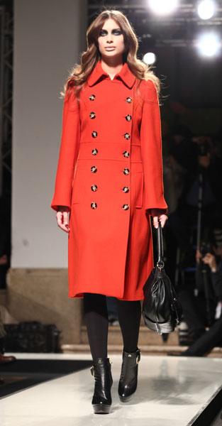 Cappotto rosso Aigner