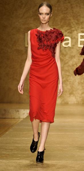 Abito rosso Laura Biagiotti