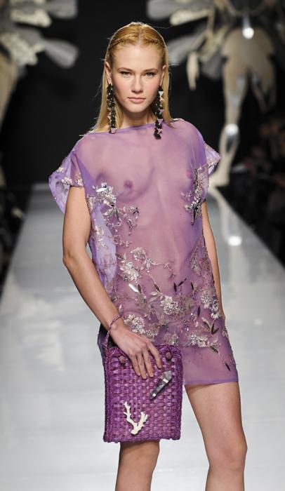 Gattinoni abito linge-couture