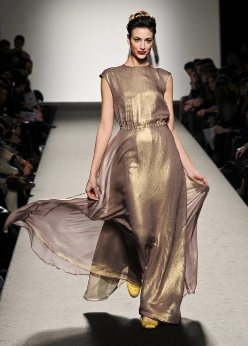 Marta Ferri abito con veli