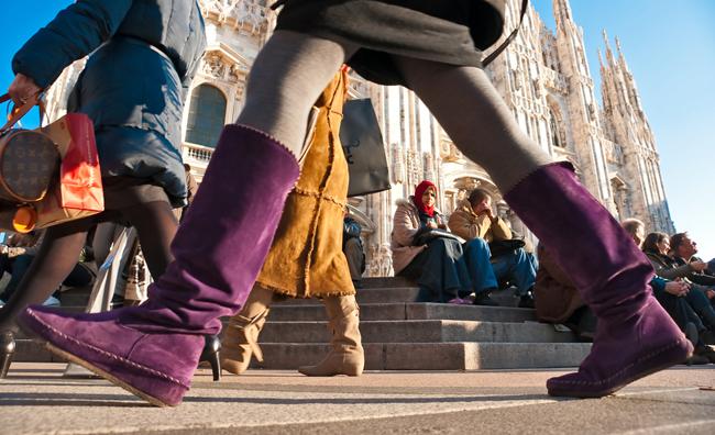 Saldi invernali 2012: Milano si prepara