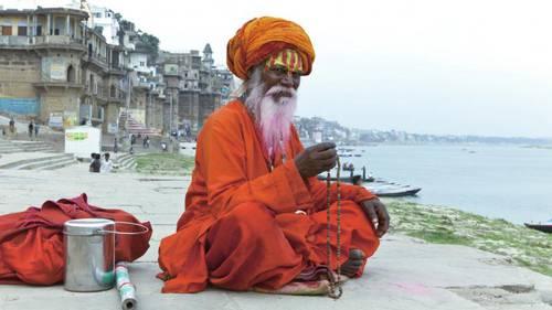 Sadhu indiano Varanasi
