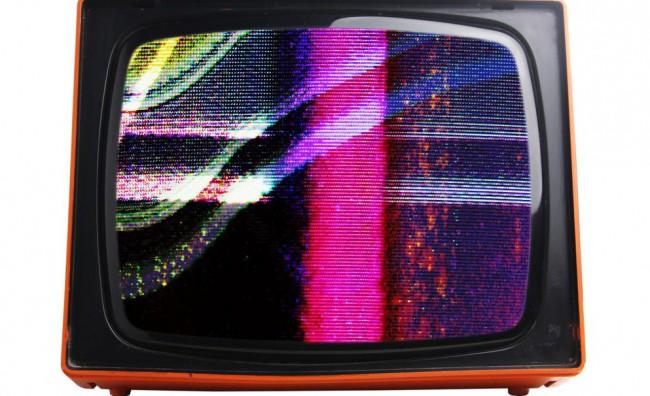 TV schermo colorato televisore