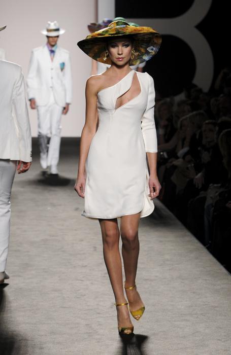 Renato Balestra abito bianco