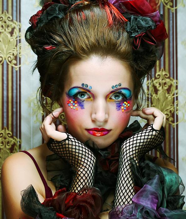 Make-up multicolore