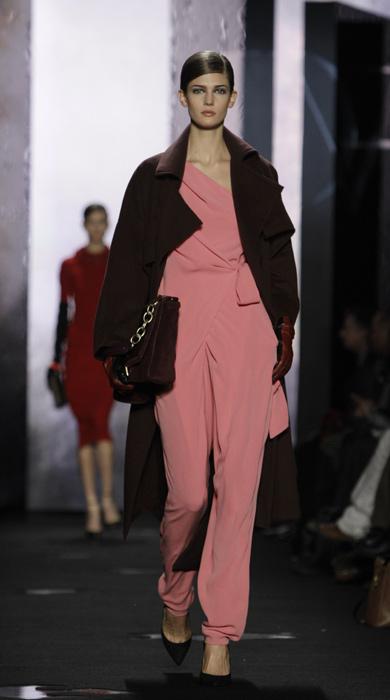 Diane Von Furstenberg - abito con pantalone rosa