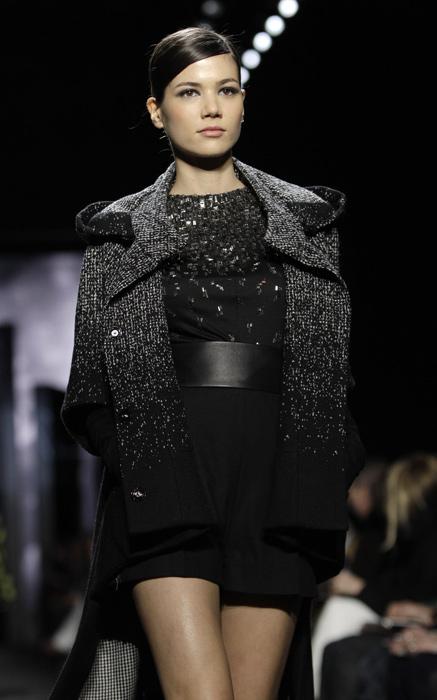 Diane Von Furstenberg - mini abito con cinta nera