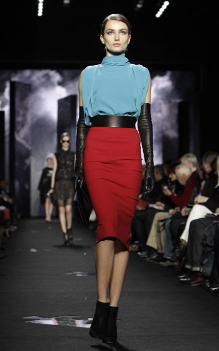 Diane Von Furstenberg - gonna rossa
