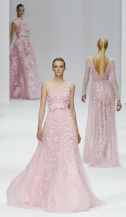 Elie Saab abito rosa
