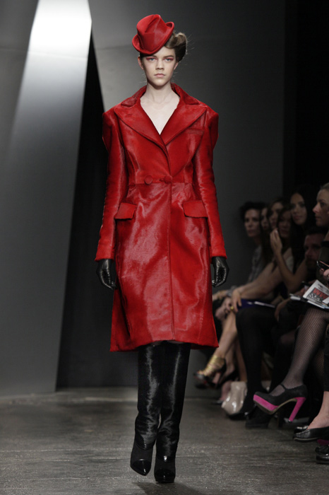 Donna Karan - trench rosso
