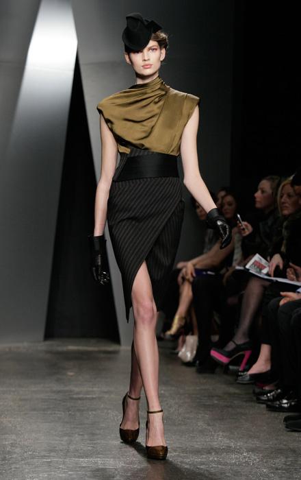 Donna Karan - maglia senza maniche e gonna a tubino