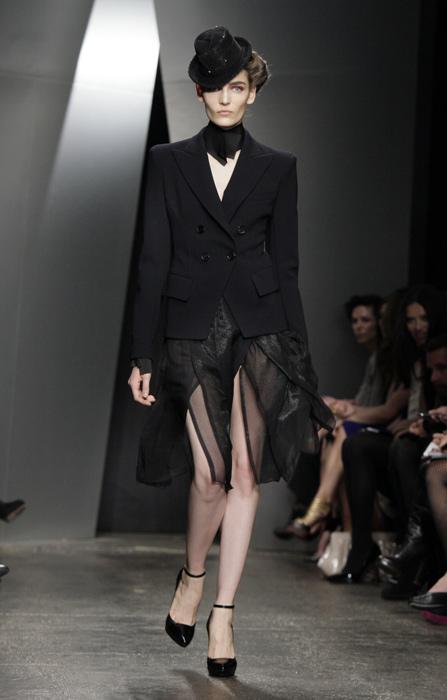 Donna Karan - gonna e giacca nera