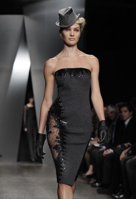 Donna Karan - mini abito senza spalline