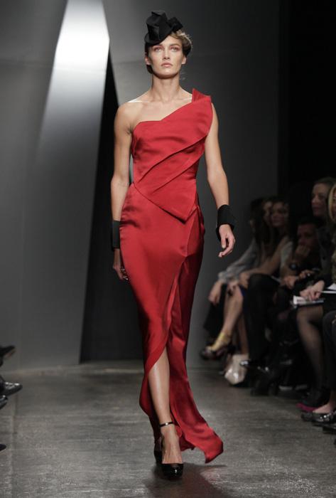 Donna Karan - abito da sera rosso