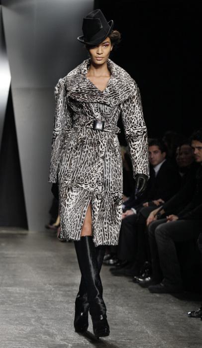 Donna Karan - capotto maculato