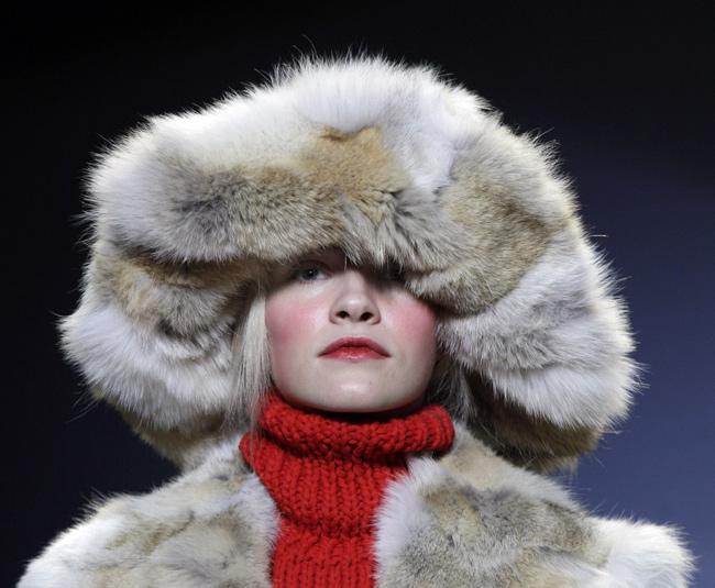 Michael Kors cappello pelliccia