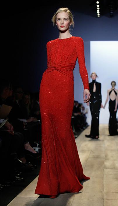 Michael Kors abito rosso