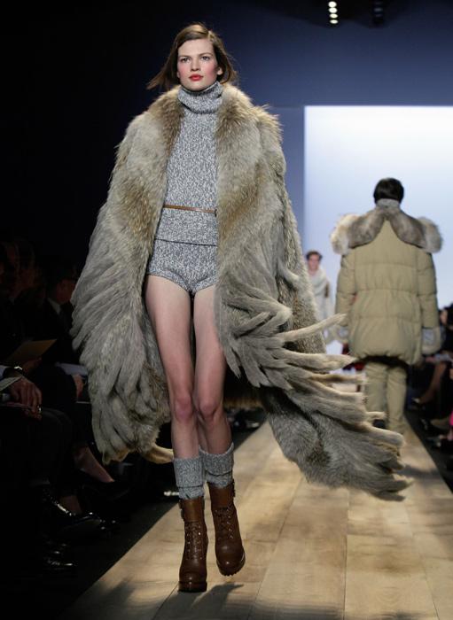 Michael Kors maxi cappotto