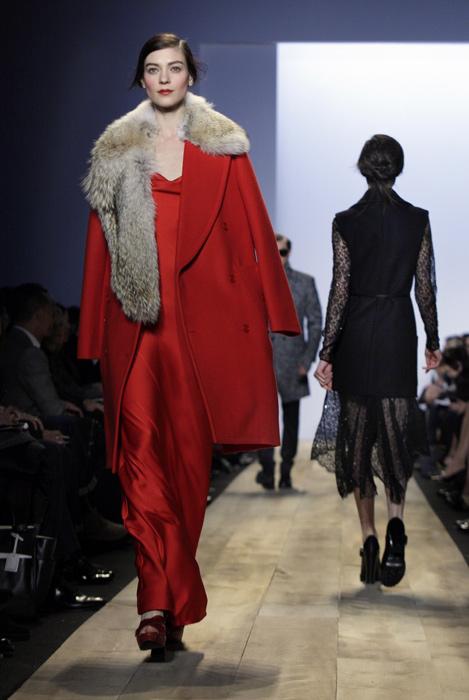 Michael Kors cappotto rosso