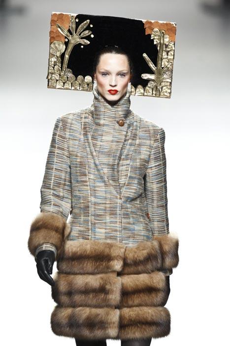 Cappotto con pelliccia