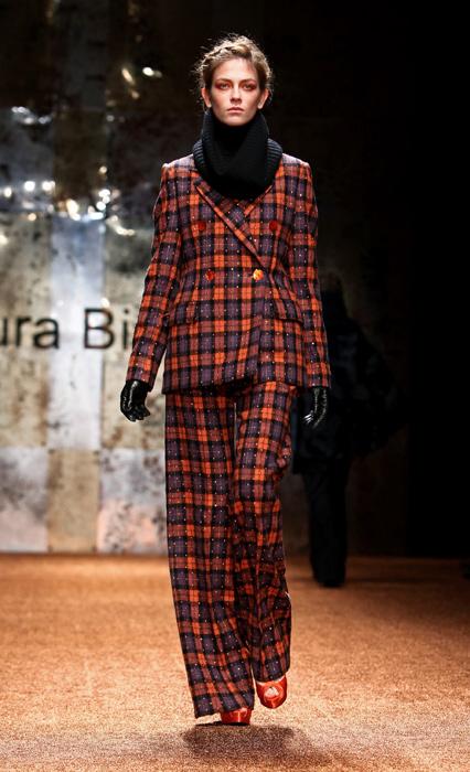 Laura Biagiotti 2012 Completo a Quadri