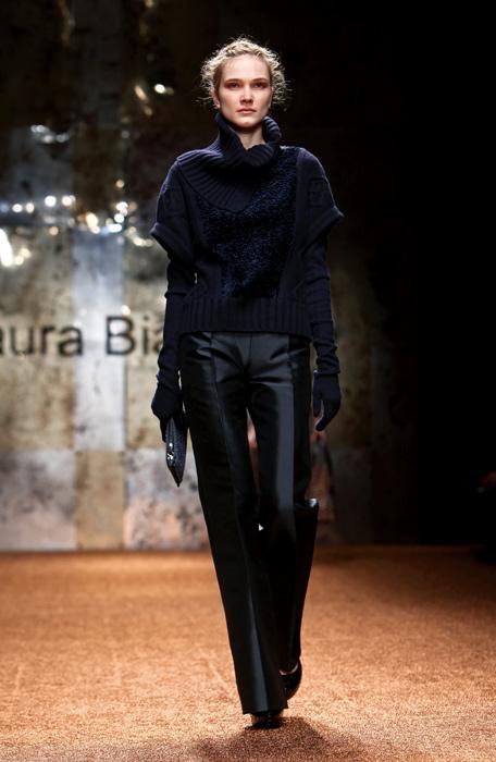 Laura Biagiotti 2012 Pantaloni Neri