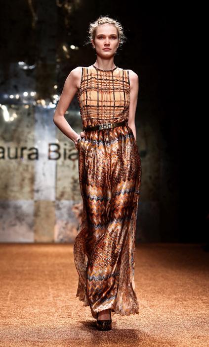 Laura Biagiotti 2012 Abito Senza Maniche