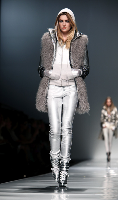 Blumarine 2012 2013 - pantaloni argento