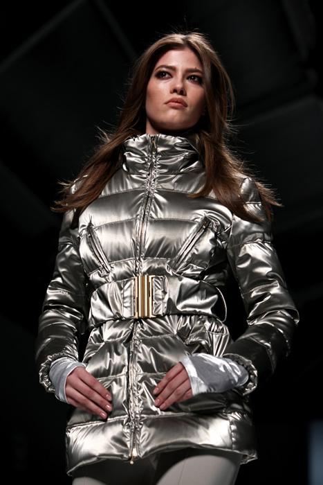 Blumarine 2012 2013 - cappotto argento