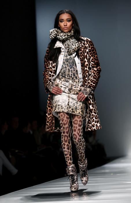 Blumarine 2012 2013 - cappotto leopardata