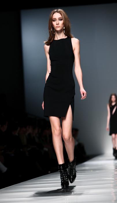 Blumarine 2012 2013 - mini abito nero