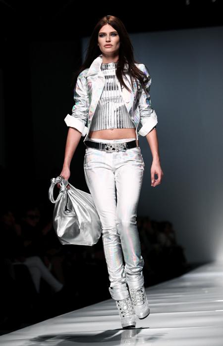 Blumarine 2012 2013 - borsa argento