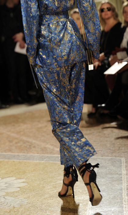 Emilio Pucci 2012 dettaglio delle scarpe