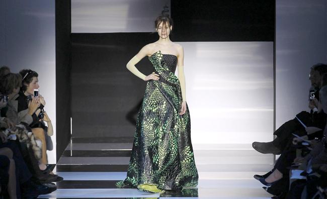 Armani Privé: le metamorfosi della donna