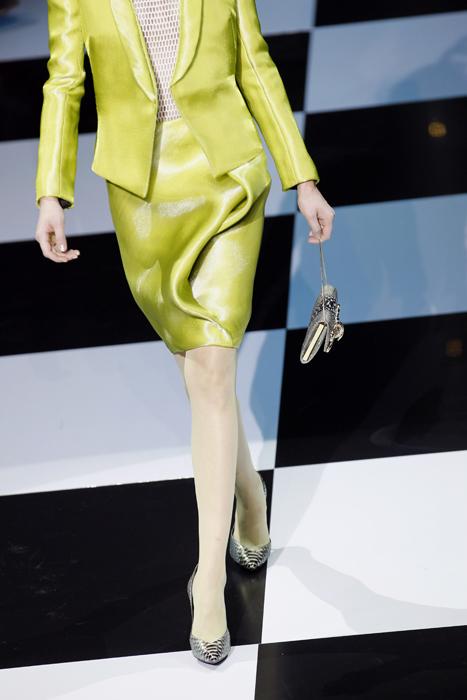 Armani Prive' tailleur giallo