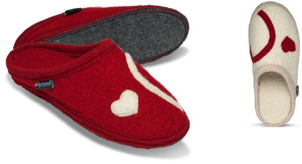 De Fonseca Lanoso - Ciabatta rossa con cuore