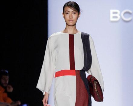BCBG Max Azria - abito bianco e nero