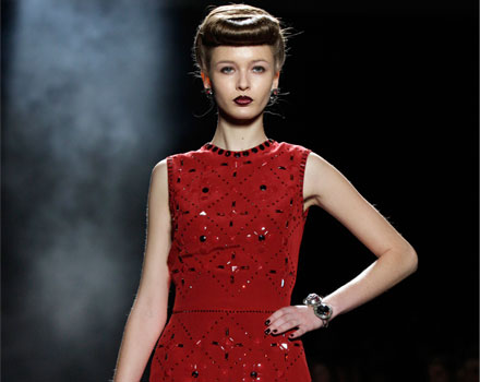 Jenny Packham - abito rosso