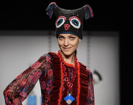 Anna Sui - cappello gufo