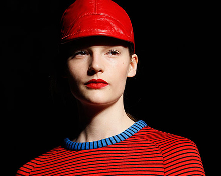 House of Holland - cappello rosso